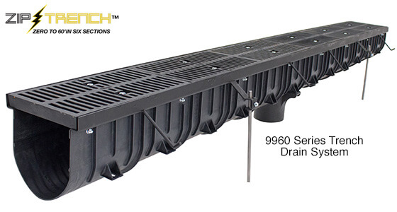 Smith Zip Trench Drain 9960 - Easy Installation