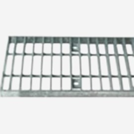"Bar Type Galvanized Steel Grate - 1"" Spacing (Heavy Duty Grate for 9812 Drainage System)"