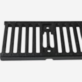 Slotted Ductile Iron Grate (Extra Heavy Duty Grate for 9812 Drainage System)