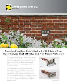 Jay R. Smith Mfg. Co. Introduces Guardian Plus Hydrants