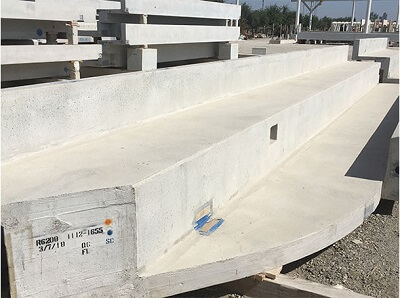 smith scupper drain precast for new LA stadium