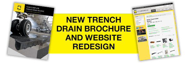 New trench drain brochure
