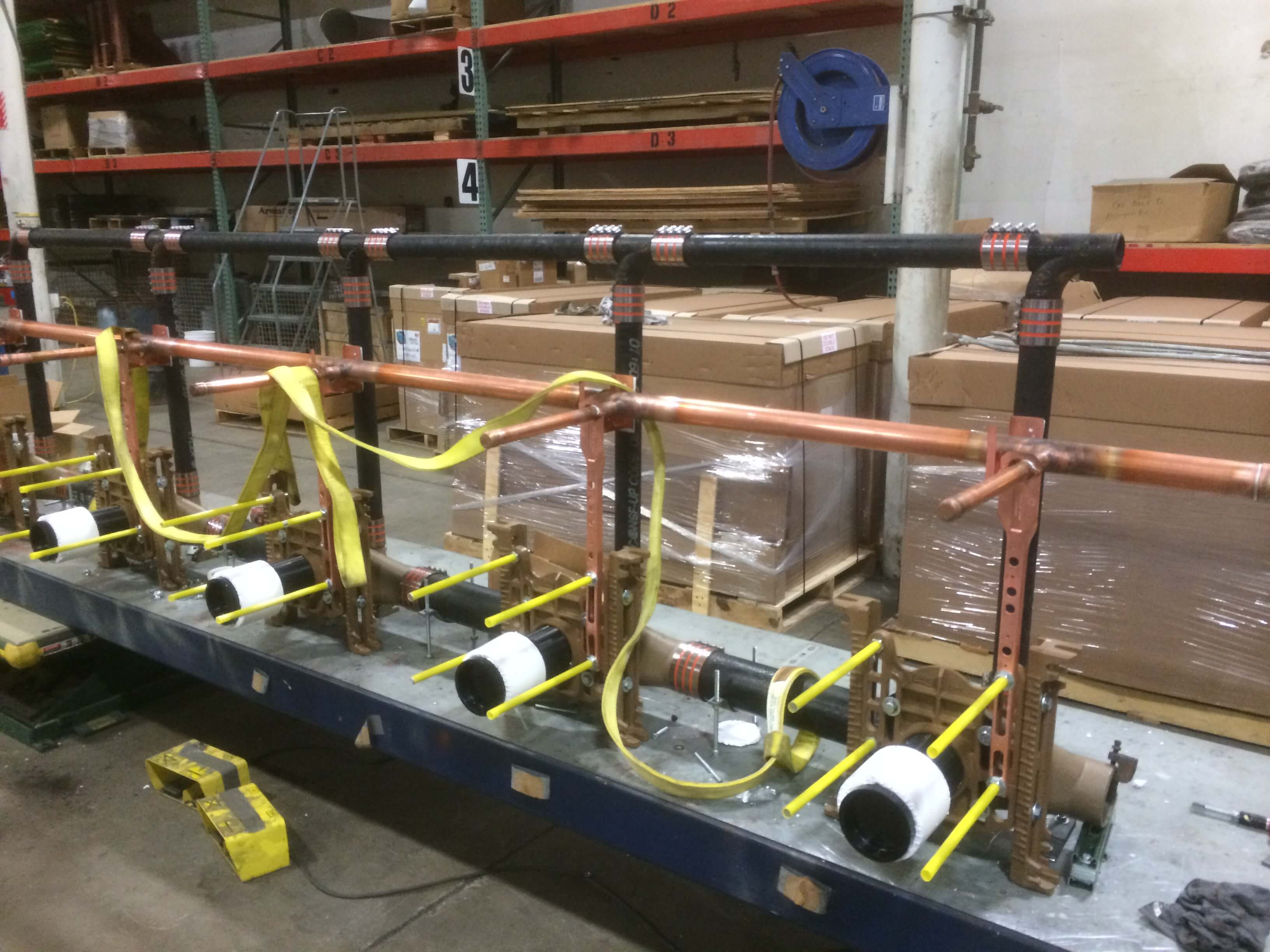 Smith Battery Of Carriers For The New Red Wings Arena Smith Water Closet ...