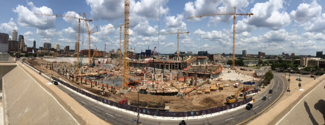 Vikings Stadium Construction Picture