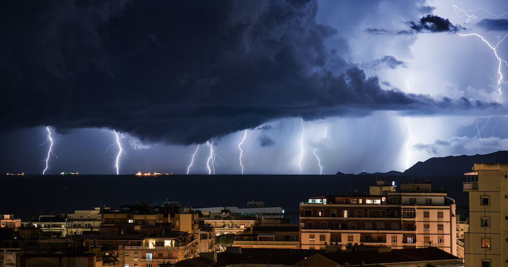 prevent roof collapse from storms