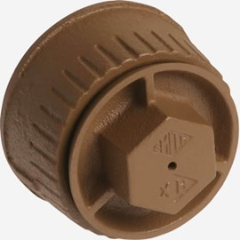 Lead Seal Plug with Round Access Cover