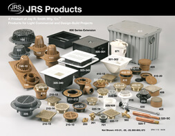 Light commercial products jay r smith mfg co the jrs products group features roof drains floor drains cleanouts sanitary floor sinks water hammer arresters hydrants traps backwater valves tyukafo