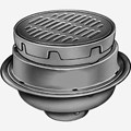 "Medium Duty Floor Drains with 12"" Adjustable Round Tops"