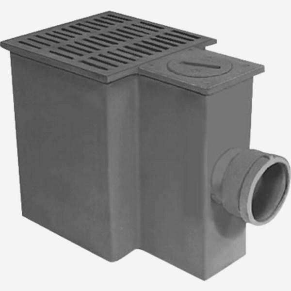 2650 extra large bucket garage drain jay r smith mfg co for Drain de garage installation
