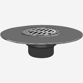 "Wide Flange Floor Drains ""Safe-Set"" Bucket"