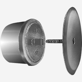 Taper Thread Plug with Round Access Cover