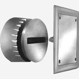 Lead Seal Plug with Square Frame and Cover