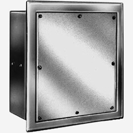 Wall Square Flush Valve Box