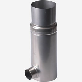 Residential Inline Downspout Filter Collector for Above Grade Application
