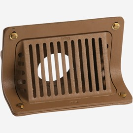 Duco Cast Iron Body Scupper Drains