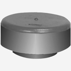 Vent Cap Vandal Proof Hooded Type Counter Flashing