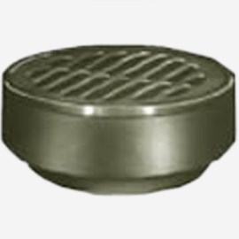 Shallow Body Floor Drain with Medium Duty Top
