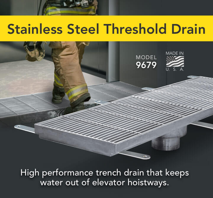Stainless Steel Threshold Drains Linear Trench Drain