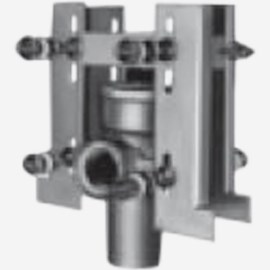 Stud-Mount Frame for Hub and Spigot System